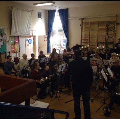 Band Training weekend with David Johnson (2)